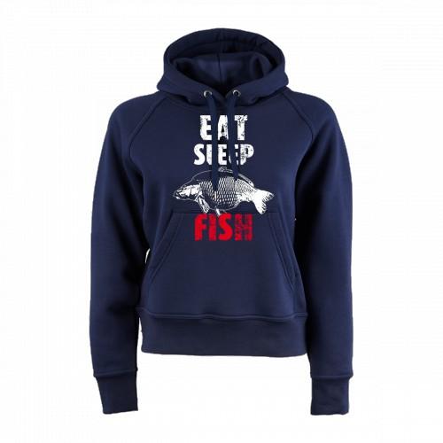 Prémiová mikina - EAT SLEAP FISH