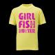 Boy fish hunter