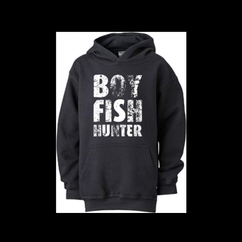 Detská mikina - Boy fish hunter