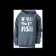 Detská mikina - Born to Fish