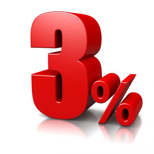 Zľava 3% na ďalší nákup
